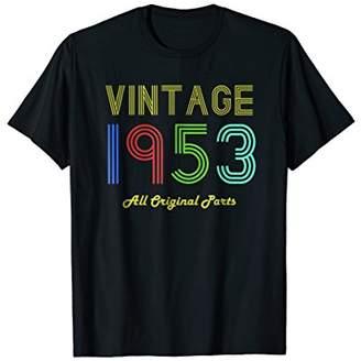 Vintage 1953 Great 65th Birthday Gift Old School Retro Shirt