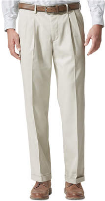 Dockers® Men's Stretch Relaxed Fit Comfort Khaki Pants Pleated - Cuffed D4 $58 thestylecure.com