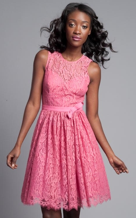 Tracy Reese Watermelon Classic Frock
