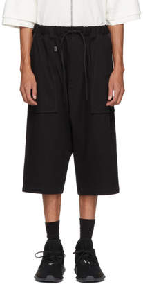 Y-3 Black Sarouel Shorts