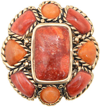 Artsmith BY BARSE By Barse Bijoux Bar Womens Color Enhanced Orange Band