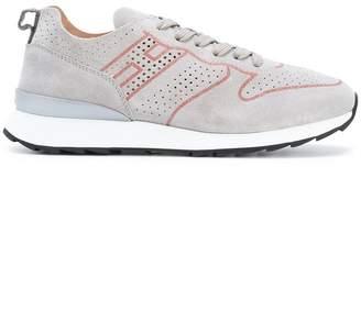 contrast piped sneakers - Grey Hogan ijTpZB