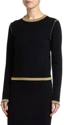 Antonio Marras Reversible Fitted Crewneck Sweater