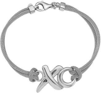 Xo Italian Silver Mesh Bracelet, 8.4g