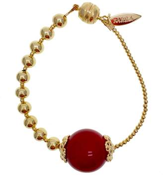 Farra - Simple Nugget Bamboo Coral Bracelet