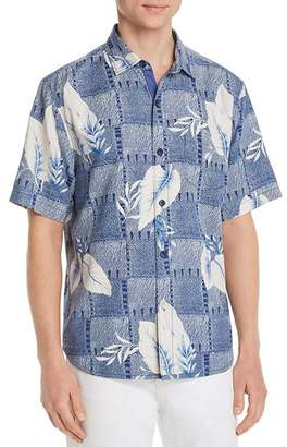 Tommy Bahama Plaza Palms Short-Sleeve Classic Fit Silk Camp Shirt
