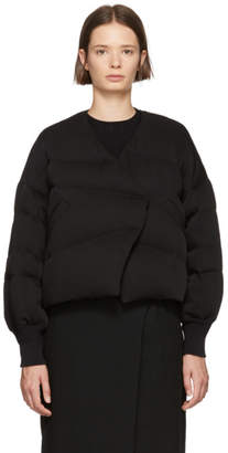 Enfold Black Short Millione Down Coat