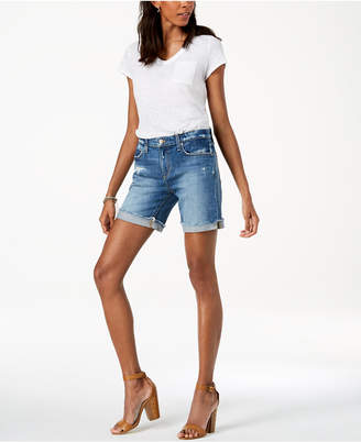 Joe's Jeans The Bermuda Cuffed Denim Shorts