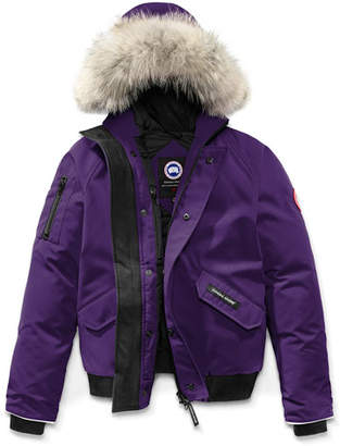 Canada Goose Rundle Hooded Down Bomber Jacket, Size XS(6-7)-XL(12-14)