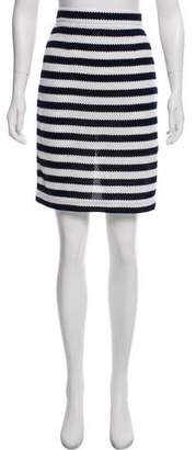 Diane von Furstenberg Striped Knee-Length Skirt w/ Tags