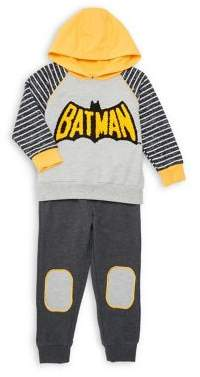 Nannette Little Boy's Two-Piece Batman Hoodie Set
