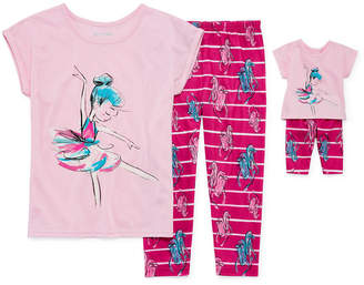 Asstd National Brand 2pc. Pajama Set with Matching Doll Outfit