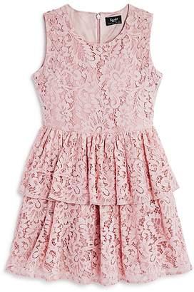 Bardot Junior Girls' Tiered Lace Dress - Big Kid