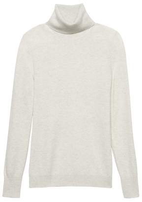 Banana Republic Wool-Blend Turtleneck Sweater