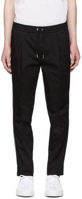 Moncler Black Sid Stripes Trousers