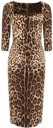 Dolce & Gabbana Leopard-printed Dress