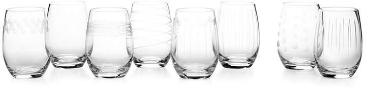 Mikasa Cheers Stemless Wine Glasses 8 Piece Value Set