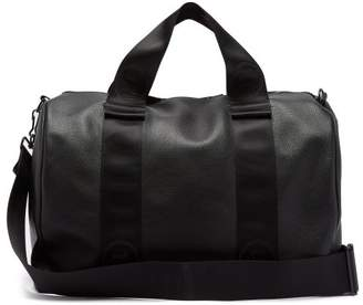 Maison Margiela Leather Weekend Bag - Mens - Black
