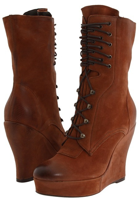 Boutique 9 Bojana (Medium Brown Leather) - Footwear