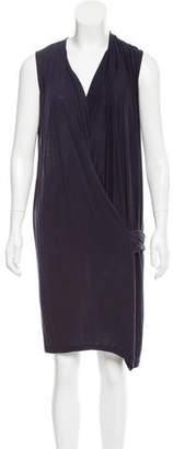 Acne Studios Sleeveless Gathered Dress
