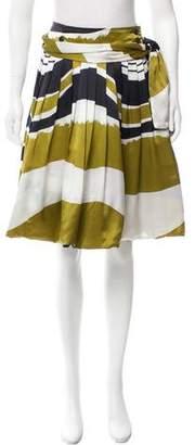 Pauw Silk Printed Skirt