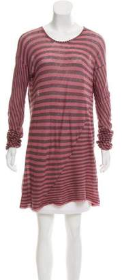 Haider Ackermann Oversize Striped Tunic