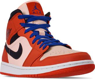 timeless design 5b53d 146d0 Nike Men s Air Jordan Retro 1 Mid Premium Basketball Shoes