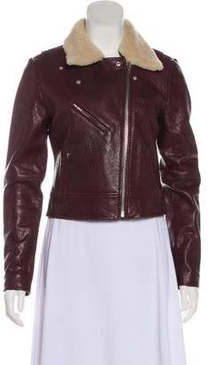 Veda Leather Long Sleeve Jacket w/ Tags