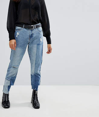 Only Boyfriend Patchwork Jeans