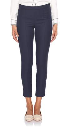 Loro Piana Mirel Spring Navy Cotton Side-Zip Pant