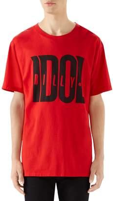 Gucci Billy Idol Oversize T-Shirt