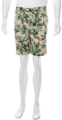 Moncler Bermuda Flat Front Shorts w/ Tags