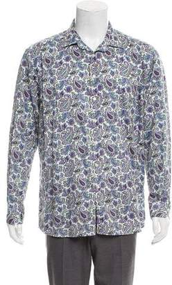 Etro Paisley Button-Up Shirt