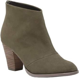 Sole Society Mid-Heel Leather Ankle Boots - Devyn