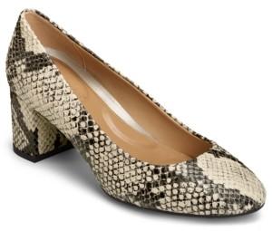 Aerosoles Eye Candy Block Heel Pumps Women's Shoes