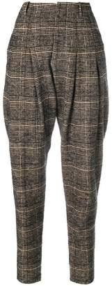 Philosophy di Lorenzo Serafini checked tapered trousers