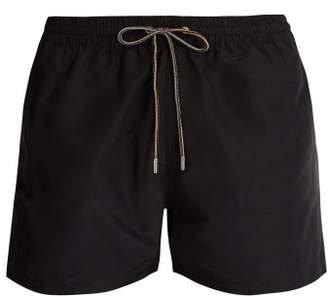 Paul Smith Rainbow Drawstring Swim Shorts - Mens - Black