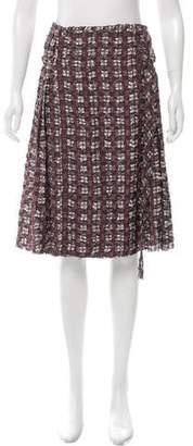 Altuzarra Plaid Wrap Skirt