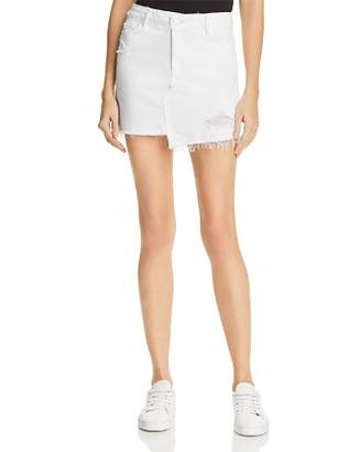 Paige Afia Denim Skirt in Crisp White - 100% Exclusive