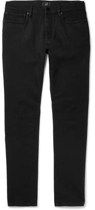 Dunhill Slim-Fit Stretch-Denim Jeans - Black