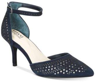 Alfani Women's Joyy Step 'N Flex Perforated d'Orsay Pumps, Created for Macy's