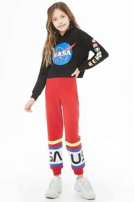 Forever 21 Girls NASA Joggers (Kids)
