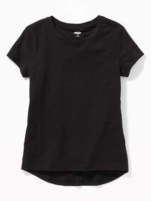 Old Navy Softest Crew-Neck Tee for Girls