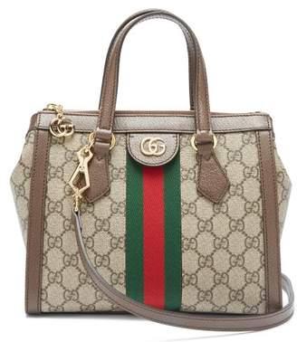 Gucci Ophidia Gg Supreme Canvas Cross Body Bag - Womens - Grey Multi