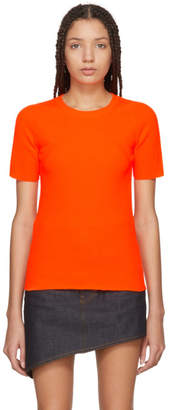 Helmut Lang Orange Essential Pullover