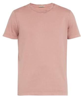 Bottega Veneta Intrecciato T Shirt - Mens - Pink