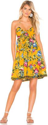 Juliet Dunn Bow Tie Front Mini Dress
