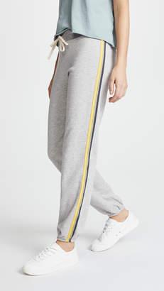 Sundry Basic Sweatpants with Stripes
