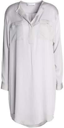 Amanda Wakeley Silk Crepe De Chine Tunic