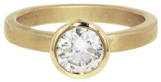 Megan Thorne Solitaire Imperial Diamond Ring - Yellow Gold